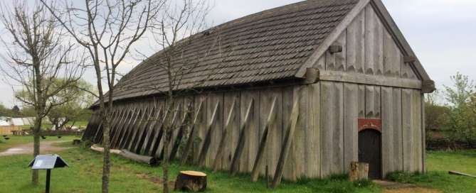Langhaus im Vikingcenter Ribe